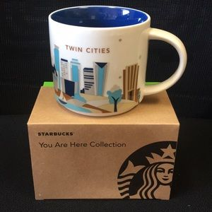Starbucks We are here collection Twin Cities
